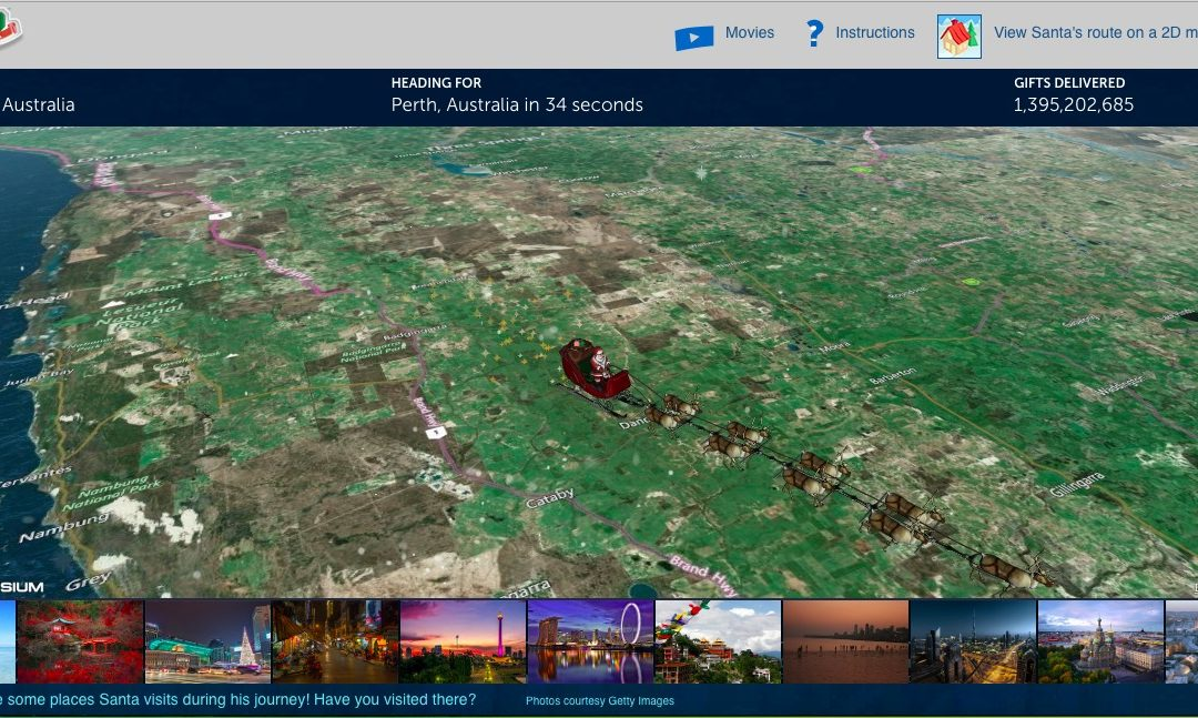 NORAD Is Now Live Tracking Santa