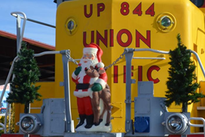 Santa Train 2018 Boulder City, Nevada