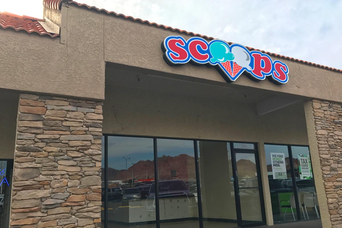 Scoops is Gone Boulder City, Nevada