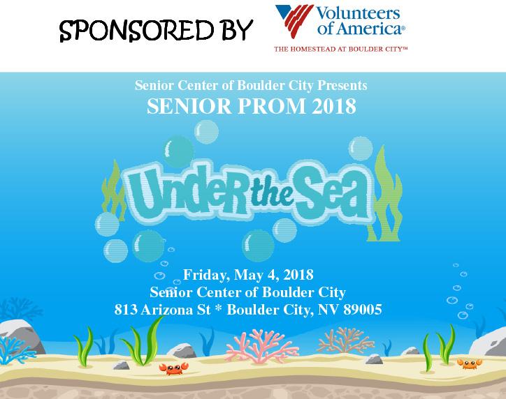 Senior Prom Ad 2018 Boulder City, Nevada