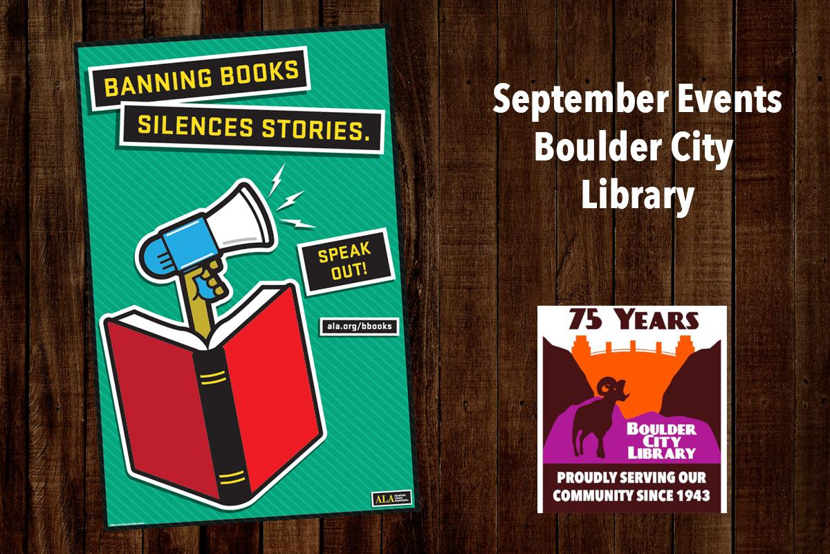 September Library Events Boulder City, Nevada