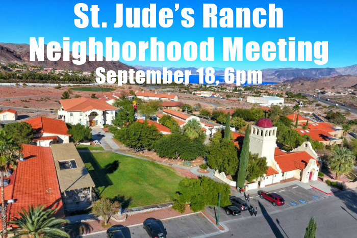 St Judes Meeting Post Boulder City, Nevada