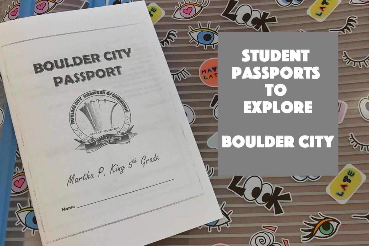 Student Passports Boulder City, Nevada