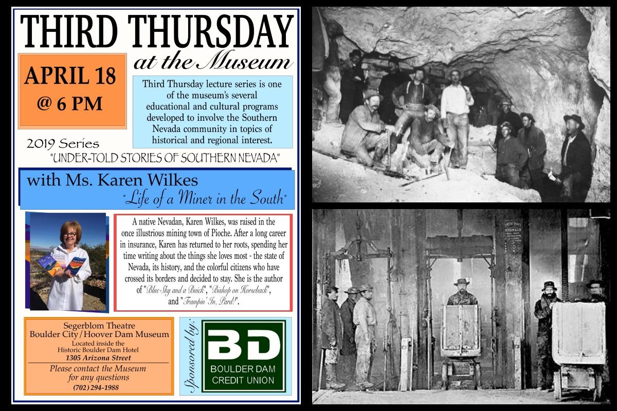 Third Thursday April Boulder City, Nevada
