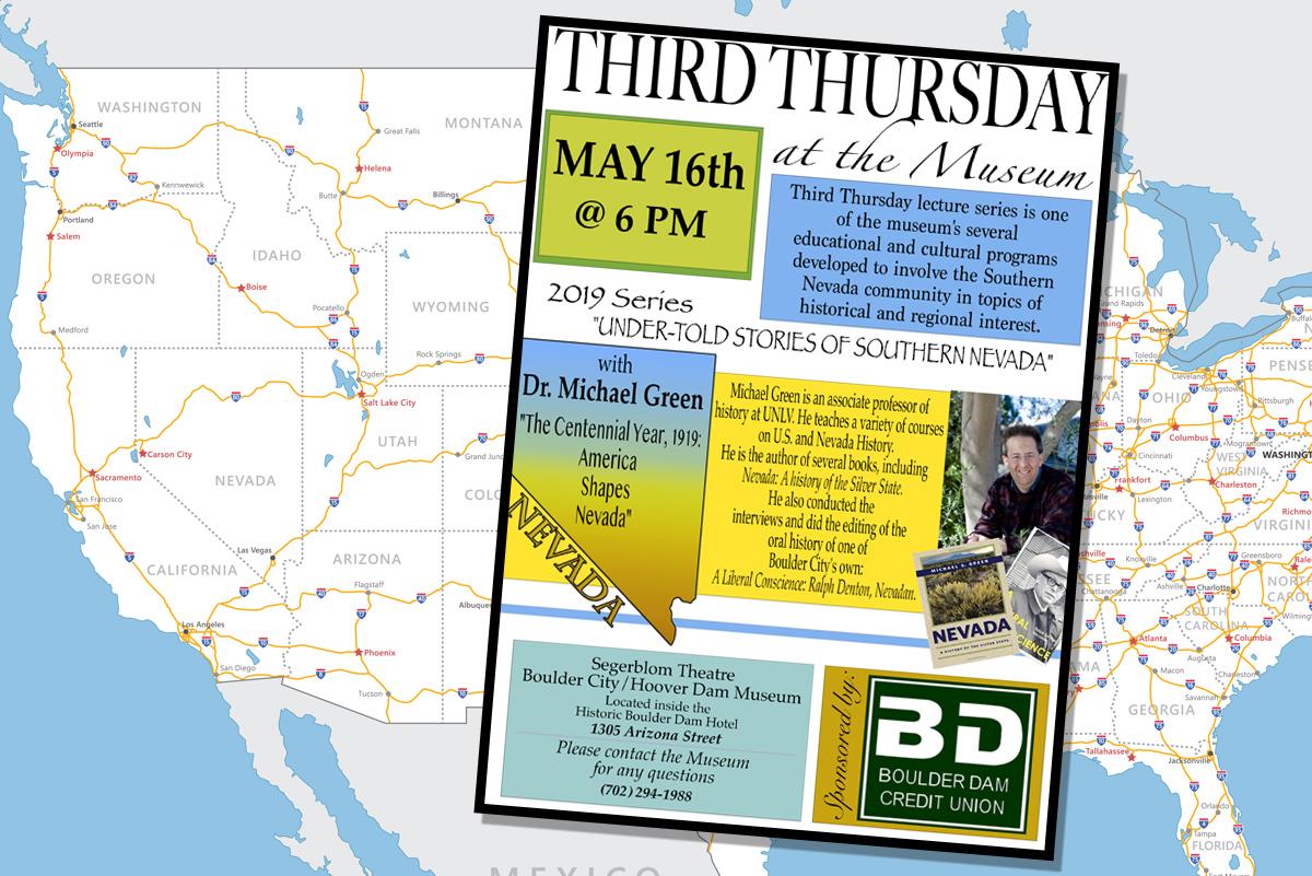 Third Thursday May Museum Boulder City, Nevada