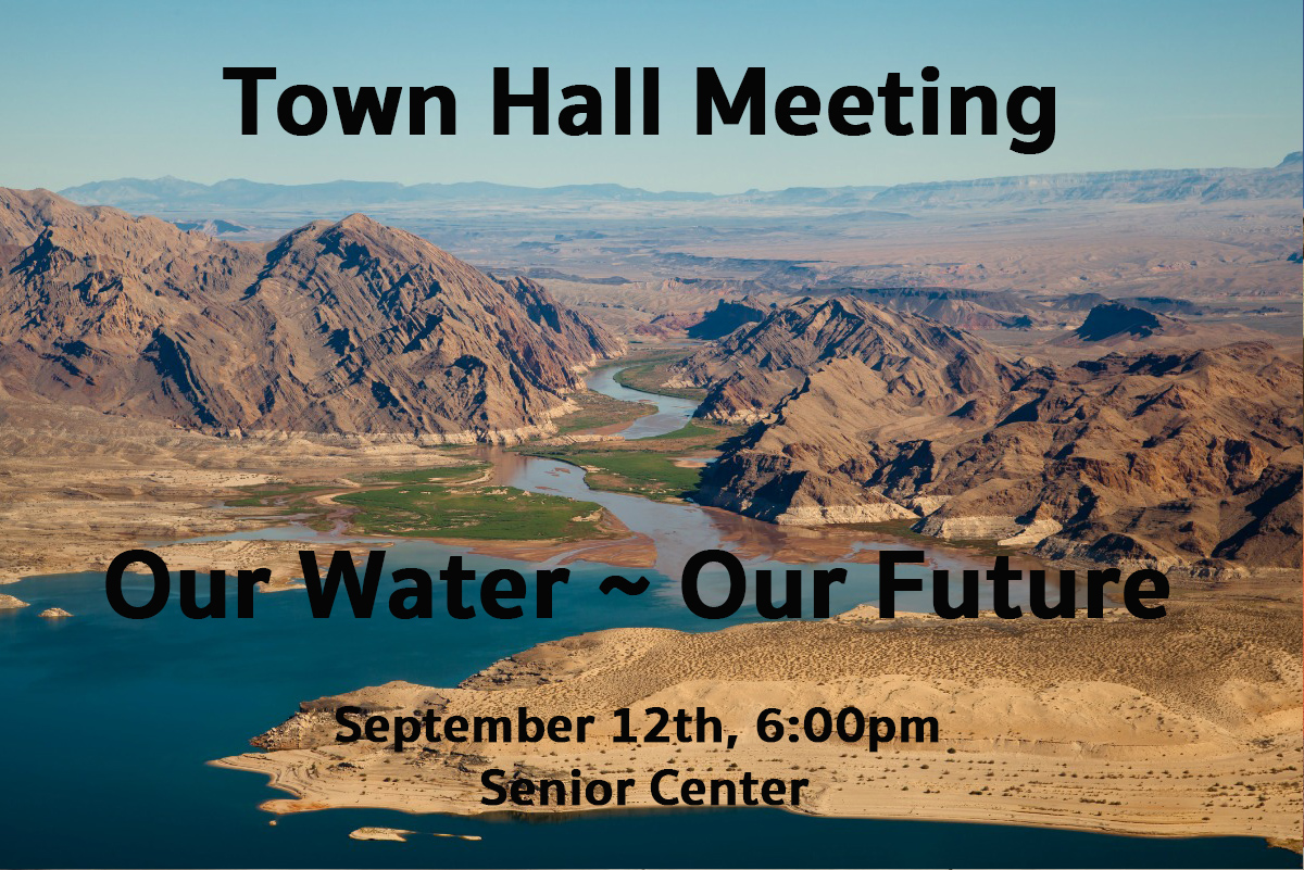 Town Hall Meeting Water Boulder City, Nevada