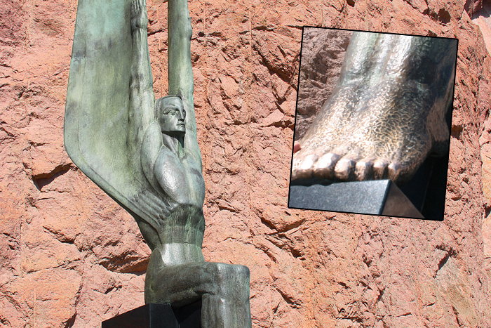 Winged Statues at Hoover Dam Boulder City, NV