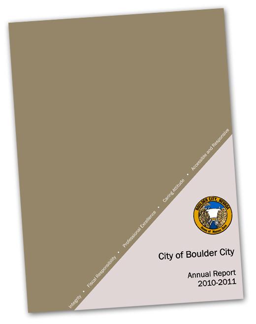Boulder City Nevada Annual Report 2011