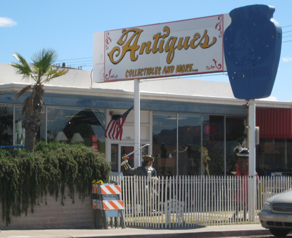 Antique Store on Nevada Hwy in Boulder City, NV