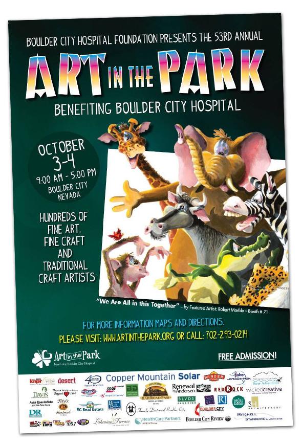 Art In The Park 2015 in Boulder City, NV