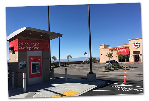 Bank Of America ATM in Boulder City, Nevada