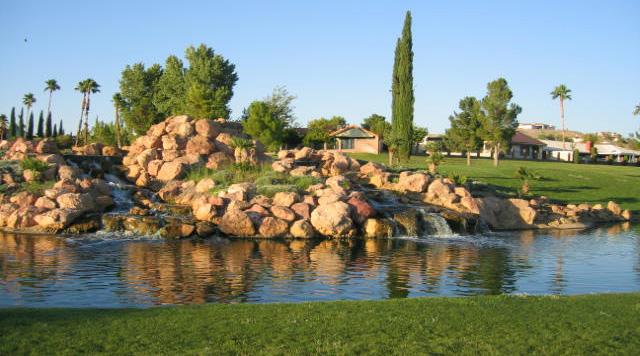 Golf Course Pond in Boulder City, NV