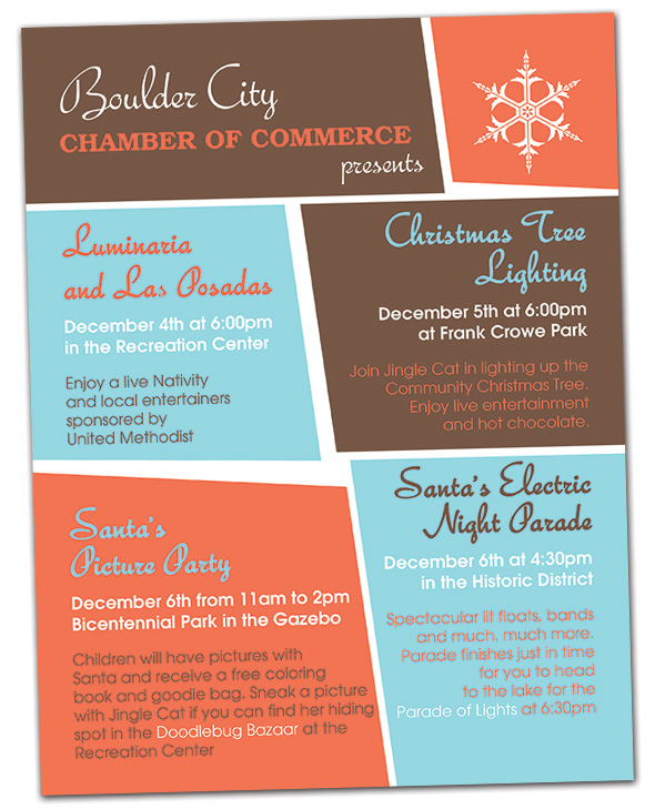 Holiday Events 2014 in Boulder City, Nevada