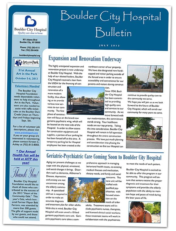 Boulder City Hospital Update - July 2013
