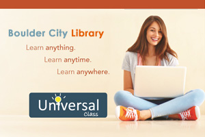 Universal Class Online Learning through Boulder City Library