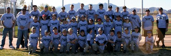 Boulder City Little League in Boulder City, NV