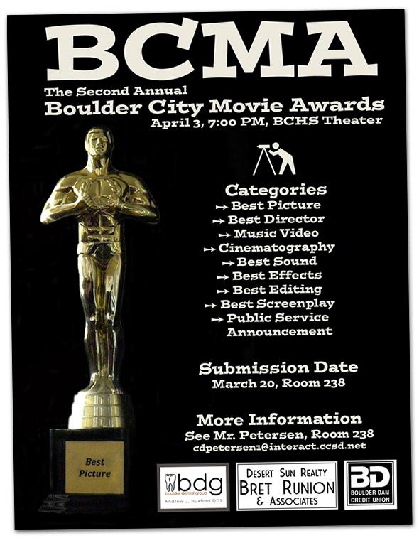 Boulder City Movie Awards in Boulder City, Nevada