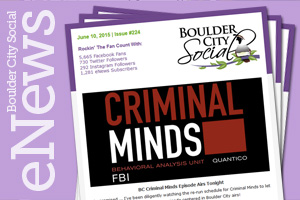 Sign Up for Boulder City Social Weekly eNewsletters
