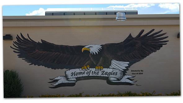 Boulder City High School Class of 2014 Mural
