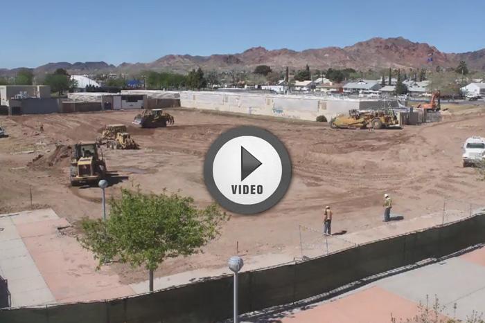 Boulder City High School Construction Camera