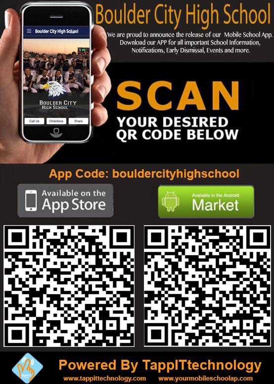 Boulder City High School Mobile App