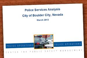 Boulder City Police Department Audit