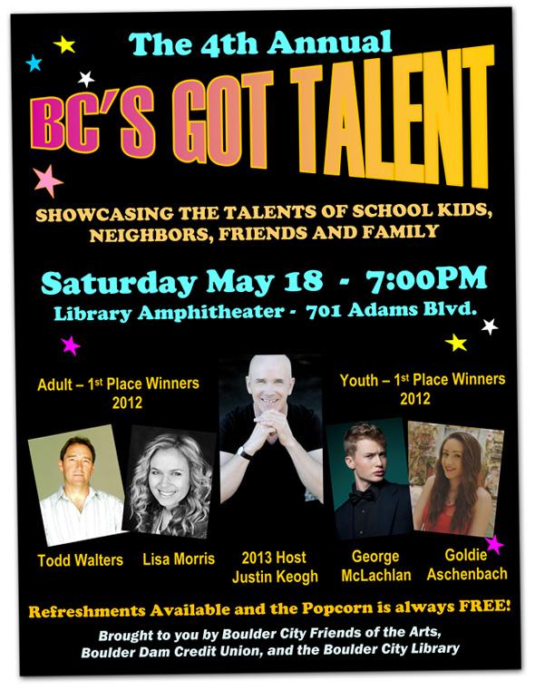 BC's Got Talent 2013 - Boulder City, Nevada