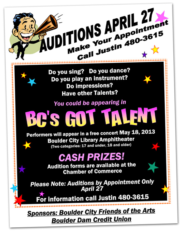 BC's Got Talent Auditions 2013