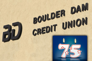 Boulder Dam Credit Union's 75th Anniversary in Boulder City, NV