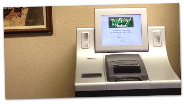 Boulder Dam Credit Union Coin Machine in Boulder City, Nevada