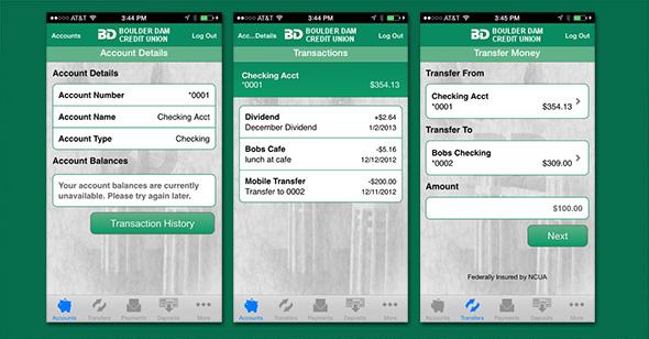 Boulder Dam Credit Union Mobile App