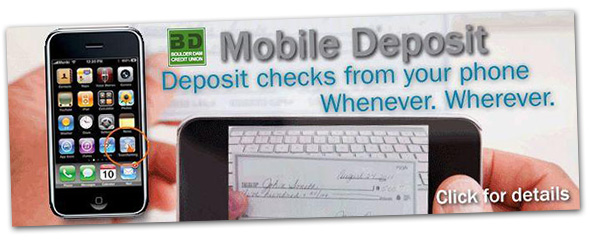 Boulder Dam Credit Union Mobile Deposit in Boulder City, Nevada