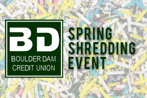 Boulder Dam Credit Union Spring Shredding Event