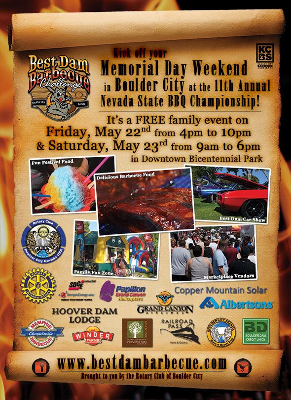 Best Dam Barbecue Challenge in Boulder City, NV