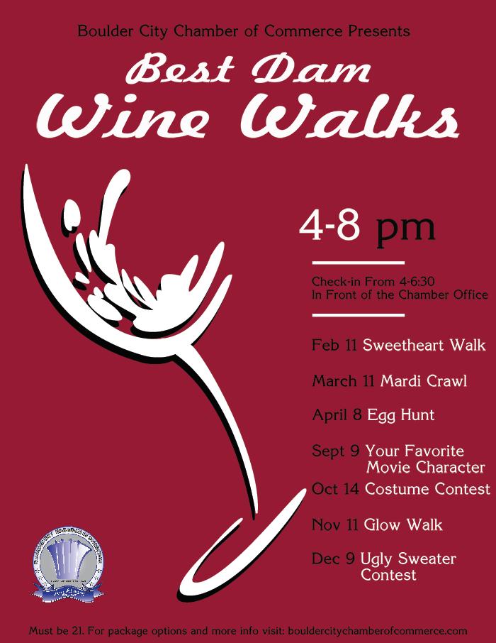 Best Dam Wine Walk 2017 Calendar