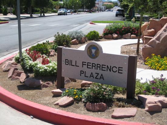 Bill FerrenceSign in Boulder City, NV - After