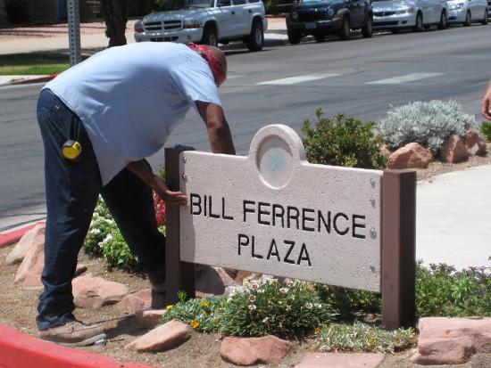 Bill FerrenceSign in Boulder City, NV - During