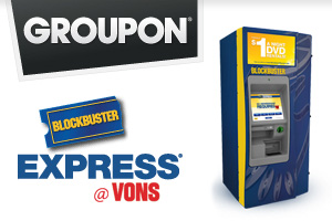 5 Blockbuster Express Movies for $2 at Vons