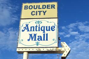 Boulder City Antique Mall Sign