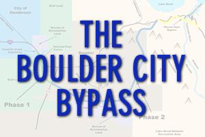 Boulder City Bypass in Boulder City, Nevada