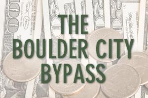 Boulder City, Nevada Bypass Cost