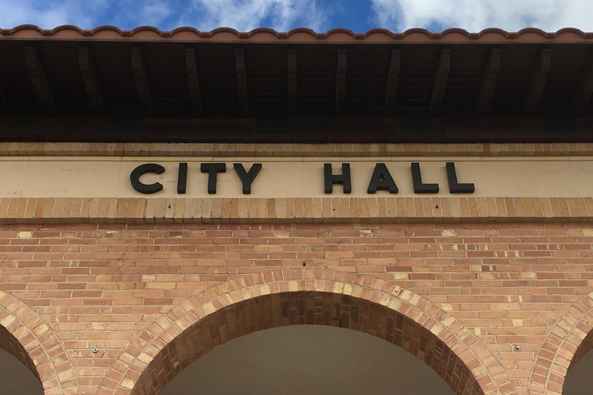 City Hall in Boulder City, Nevada