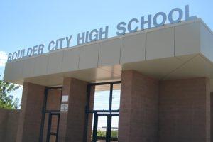 Boulder City High Shool in Boulder City, Nevada
