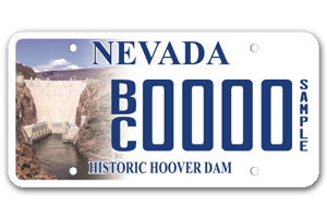 Boulder City License Plates