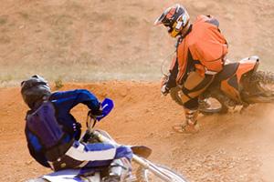 Motocross in Boulder City, Nevada
