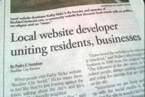 Boulder City Review Article