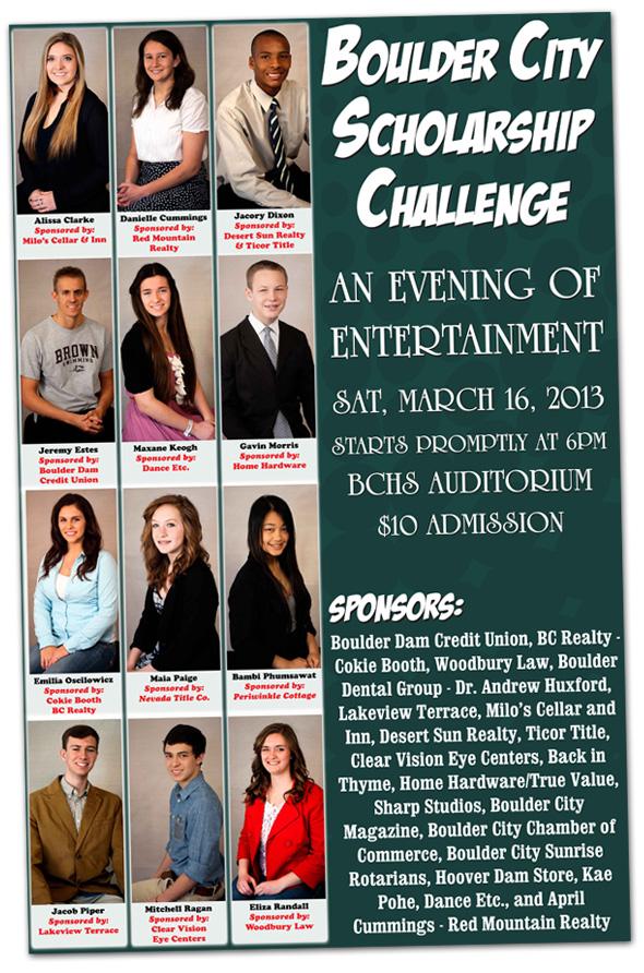 Boulder City Scholarship Challenge