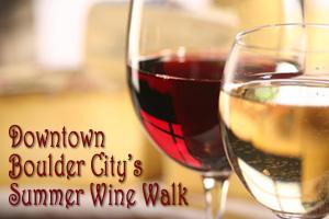 Downtown Wine Walk in Boulder City, Nevada