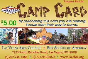Boy Scout Camp Cards 2012