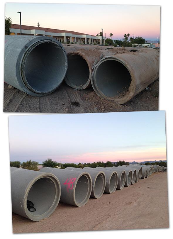 Construction on Buchanan in Boulder City, Nevada